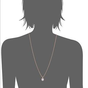 Kendra Scott Jewelry - Kendra Scott rose gold druzy necklace
